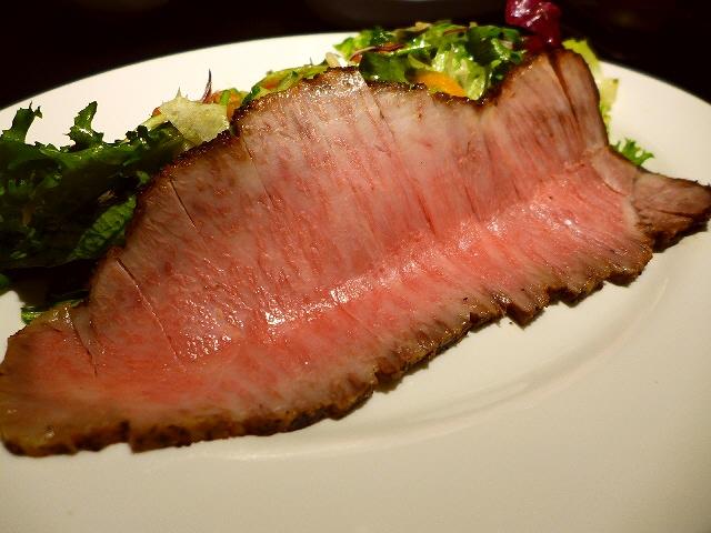 Mのディナー  日本一のローストビーフの浪花の伝説の焼肉屋さんが移転リニューアルして復活!  なんば  「弁慶」