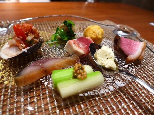 Mのディナー センス抜群の和洋会席は満足感が高すぎます!   中央区島之内  「Japanese Cuisine QusQus」