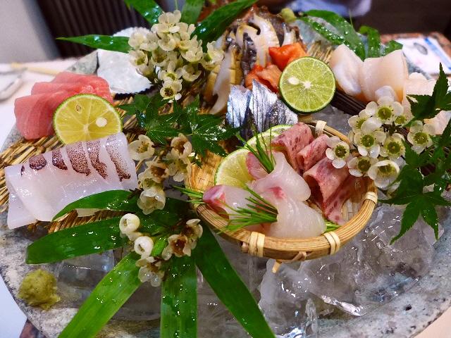 Mのディナー  魅力たっぷりのお値打ちの魚介類が揃う名店!  北新地  「北新地 和平」
