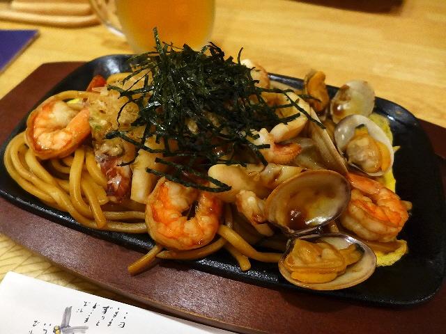 Mのディナー  尼崎で大阪の新名物の道頓堀やきそばが食べられます!  兵庫県尼崎市  「季節料理 竹葉」