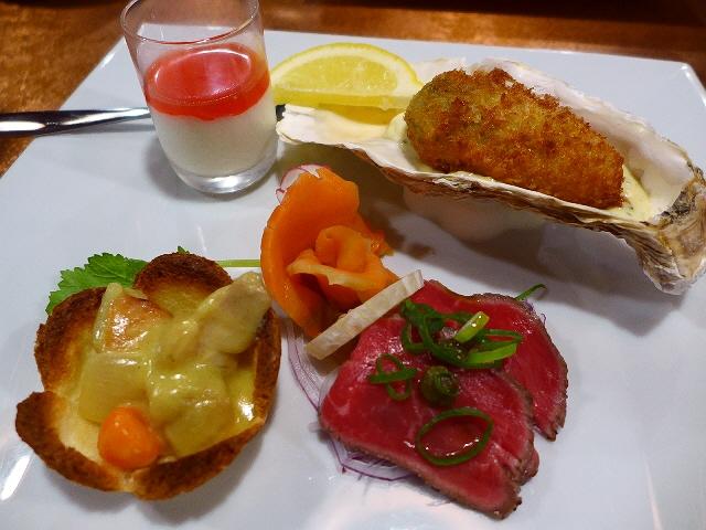 Mのディナー  高級感溢れる味わいの洋食がお手軽に楽しめます!  堺筋本町  「洋食 ふくもと」