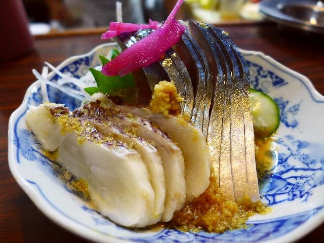 Mのディナー  ゆったりした空気が流れるいぶし銀の正統派居酒屋  兵庫県  「藤原」