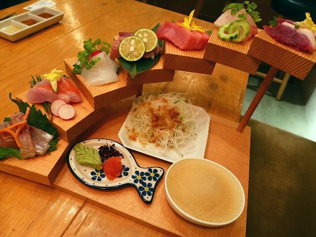 Mのディナー  エンタメ感とおもてなしの心が伝わる店内でこだわりの絶品名物料理が楽しめます!  北新地  「浪花ろばた itadakitai(頂鯛)」