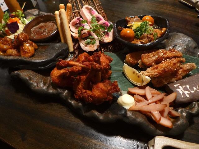 Mのディナー  こだわりだらけの鳥料理が素晴らしくリーズナブルにいただけます!  なんば  「六角鶏 難波店」