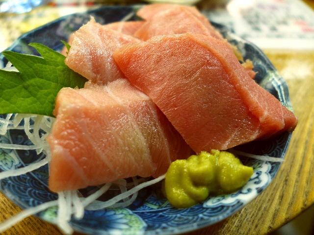 Mのディナー  本格絶品まぐろも何もかもが猛烈に安い大人気の立ち飲み屋さん!  蒲生四丁目  「魚庭(なにわ)」