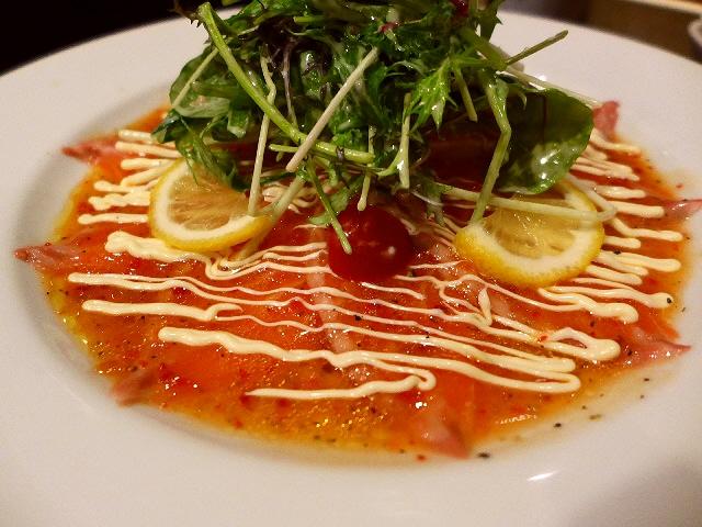 Mのディナー 飲み放題・うどん食べ放題付き宴会コースは猛烈にお値打ちです!   北区豊崎  「情熱うどん 讃州」