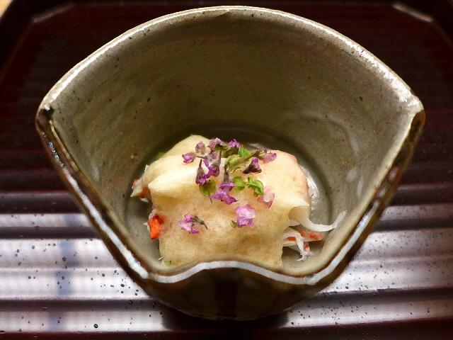 Mのディナー  名店本湖月の奥義に独自のセンスをプラスした素晴らしい日本料理に心底感動です!  天神橋7丁目  「天神橋 青木」