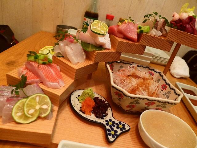 Mのディナー  美味しい料理とエンタメ感抜群の演出で心から満足させていただけます!  北新地  「浪花ろばた itadakitai(頂鯛)」