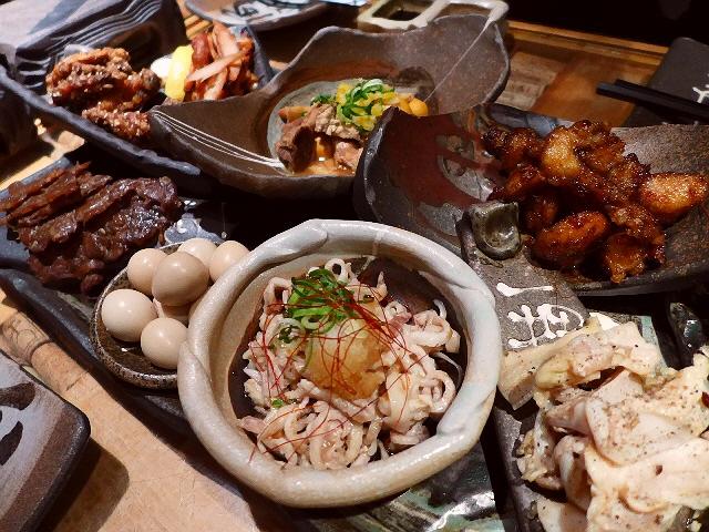 Mのディナー  全国からお値打ちの鶏が集結!独創的な鶏肉料理が楽しめます!  堂山町  「鶏家 六角鶏 梅田本店」