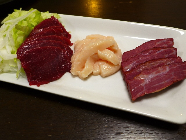 Mのディナー  馬肉の持ち帰り専門店がオープンしました!  天満  「大阪馬肉屋 大阪天満宮店」