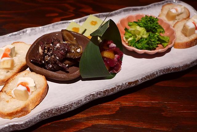 Mのディナー  様々なジビエ料理が楽しめます!  北区堂島  「炉端美酒食堂 炉とマタギ 西梅田」