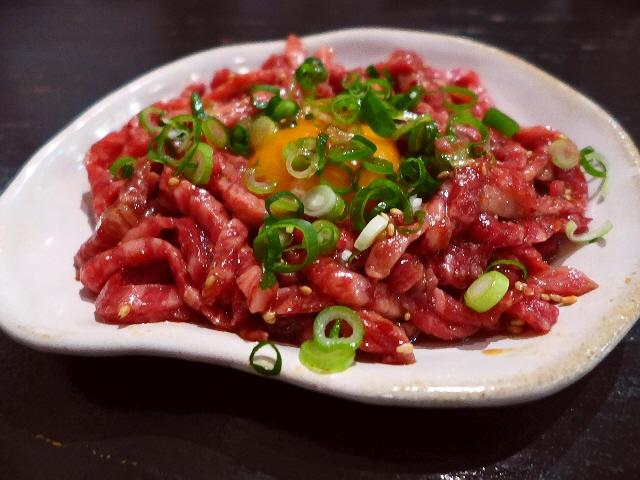 Mのディナー  美味しお肉料理がリーズナブルにいただけるお肉好きにはたまらないお店!  南船場  「南船場 御肉」