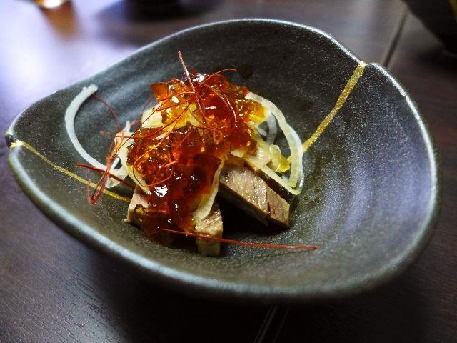 Mのディナー  牛タン創作料理が堪能できます!  北新地  「牛たん堂島精肉店」