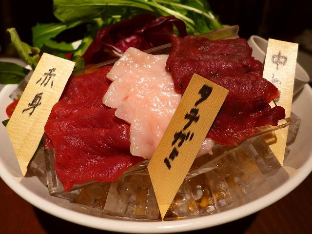 Mのディナー  生肉好きにはたまらない肉専門の寿司バル!   福島区  「加藤商店 バル肉寿司」