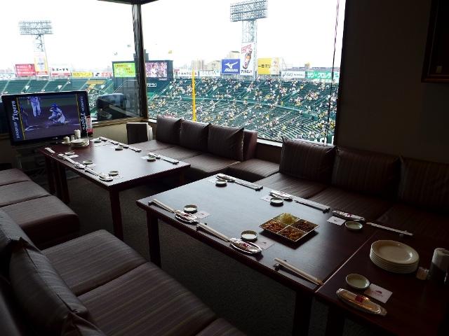 Mのディナー  夢にまで見たロイヤルスイートルームで感動体験をさせていただきました! @阪神甲子園球場