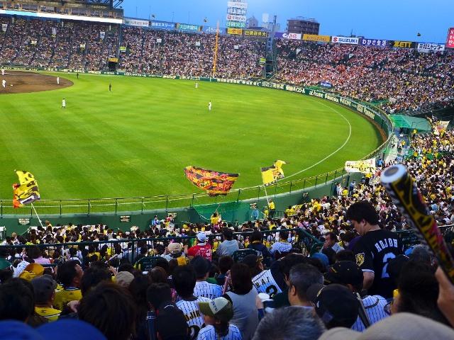 Mのディナー  ライトスタンドで大声で応援したのですが・・・ @阪神甲子園球場
