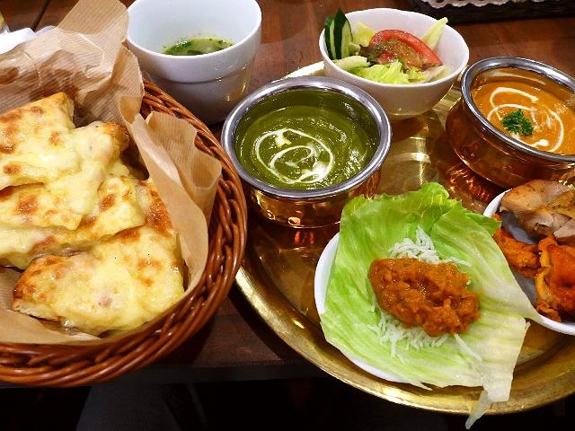 Mのディナー  大人気インド料理店が梅田に進出!  梅田  「PUJA 梅田」