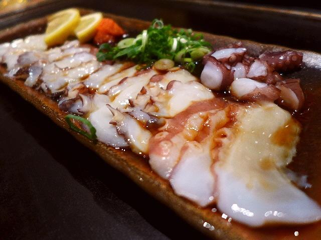 Mのディナー  たこ焼き屋さんのお値打ち飲み放題付宴会コース  千日前  「たこやき座」
