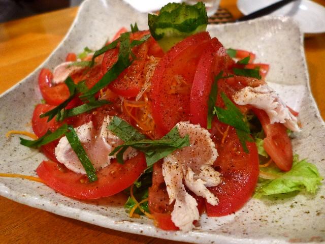 Mのディナー  甘くて爽やかな創作トマト料理が楽しめます!  北区池田町  「トマトゥル」