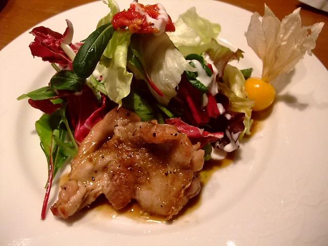 Mのディナー  夜のコースはあまりにも満足感が高いです!  北区神山町 「洋食の店  ア・ラ・カルト」