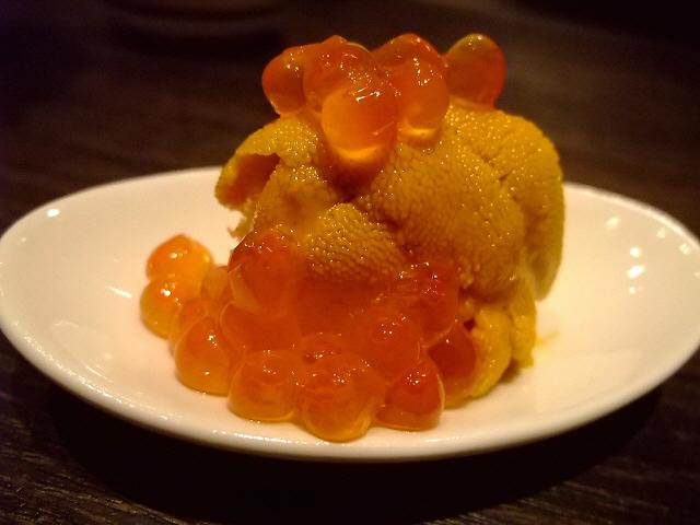 Mのディナー 行くたびに新たなメニューに驚かされる素晴らしい串揚げ屋さん 北新地 「PANKOYA」