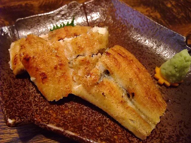 Mのディナー 大阪の鰻の名店で居酒屋使い 旭区 「魚伊 本店」