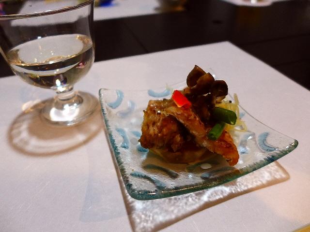 Mのディナー  絶品料理ごとに地酒が付いた満足感が高すぎるおまかせコース!  南船場 「多満喜」