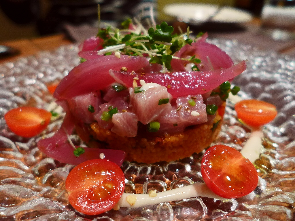 Mのディナー 本格イタリア郷土料理のディナーも抜群に美味しかったです! 中央区南久宝寺町 「ラ・ピニャータ」