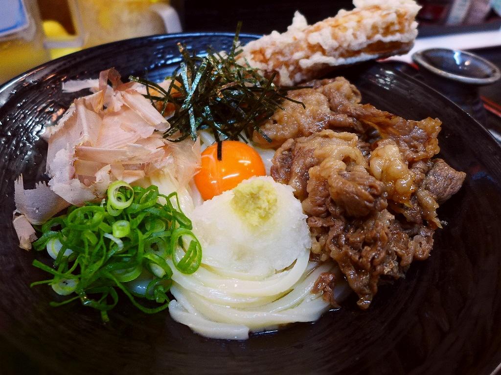 Mのディナー うどんもトッピングもサイドメニューも全てが超ハイレベルで旨すぎます! 堺市  「麺くい やまちゃん」