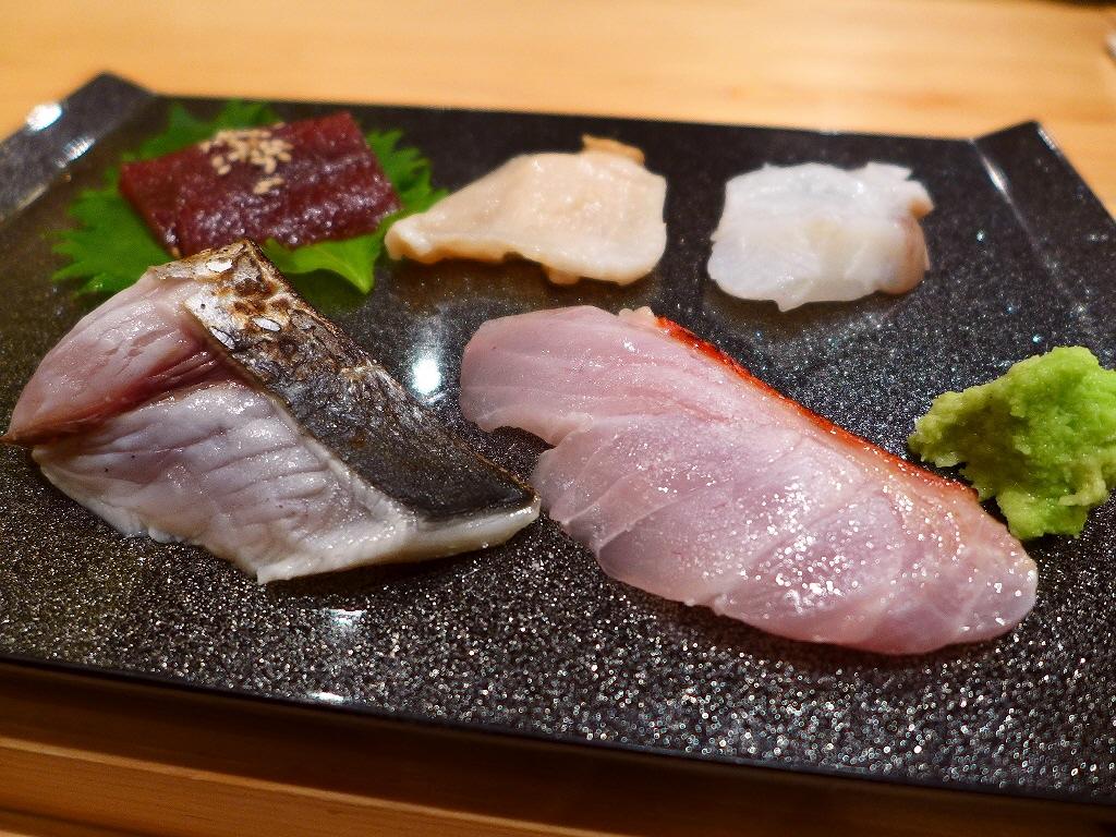 Mのディナーその2 こだわりのネタと光る技に感動! 福島区 「鮨 永吉」