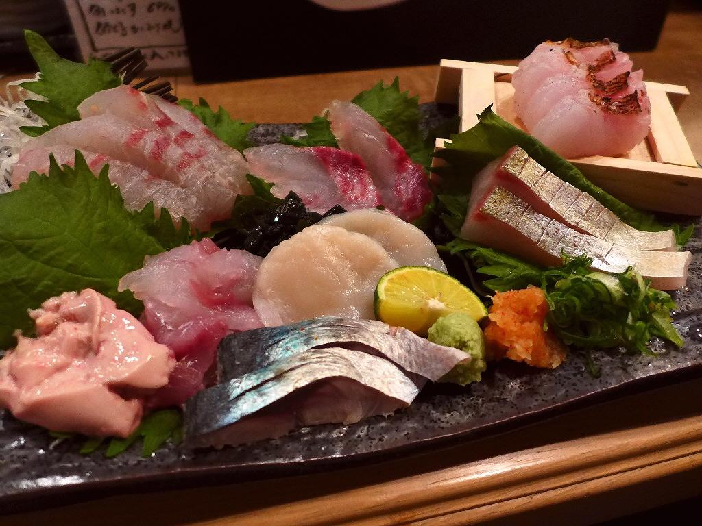 Mのディナー 旨味たっぷりの熟成魚と鮮度抜群の明石昼網の魚がいただけるお値打ち居酒屋! 三宮 「熟成魚と明石昼網 鯛之鯛」