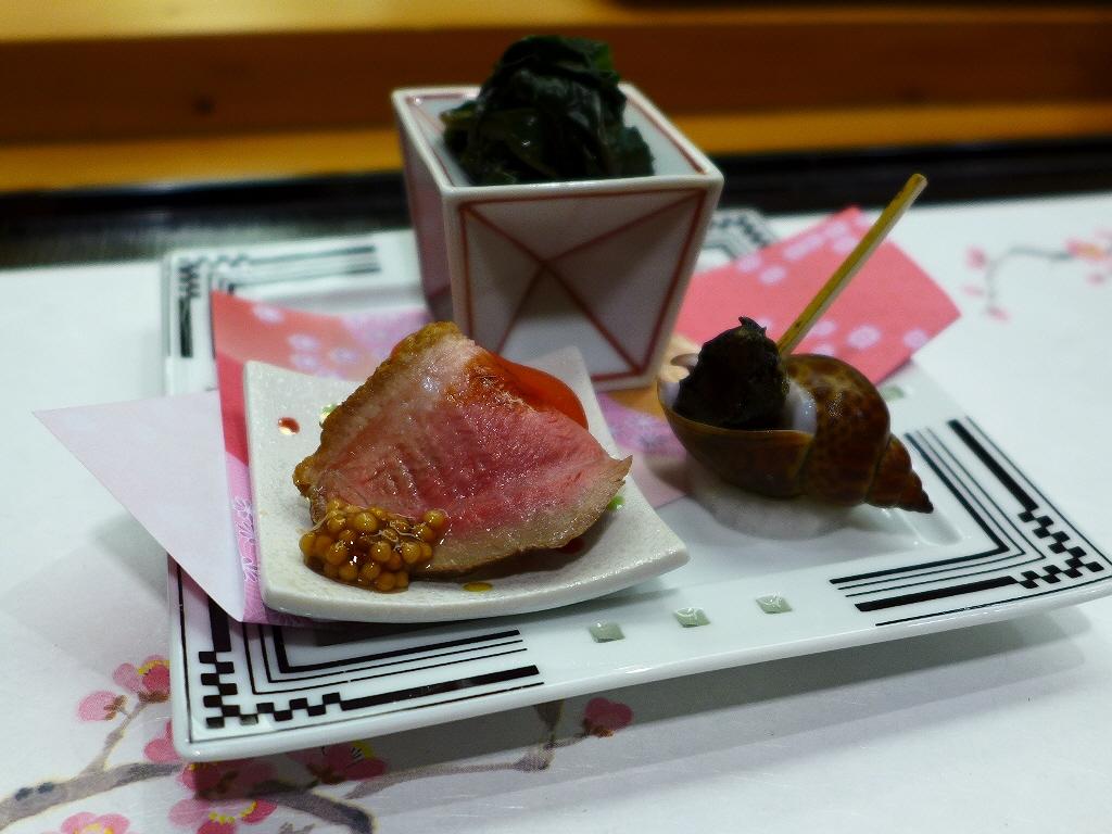 Mのディナー 絶品のアテと本格寿司がいただける満足感が高すぎるおまかせコース! 「琥珀」