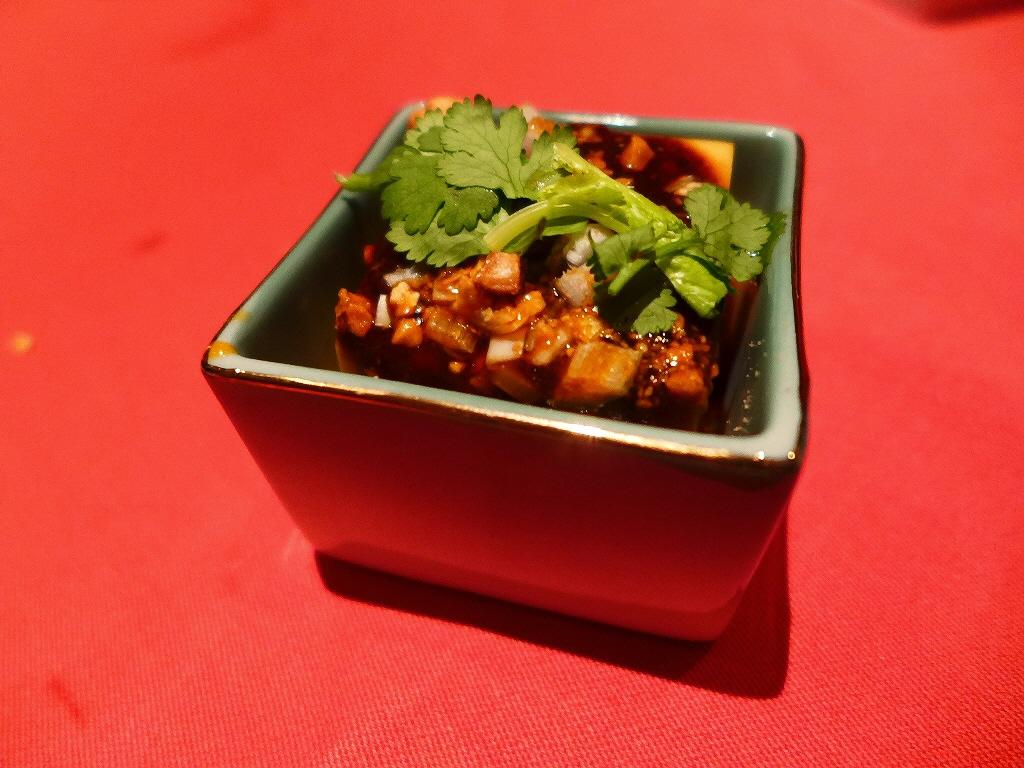 Mのディナー 四川風麻婆豆腐食べ比べの特別コースをいただきました! 堂島ホテル 「中国料理 瑞兆」