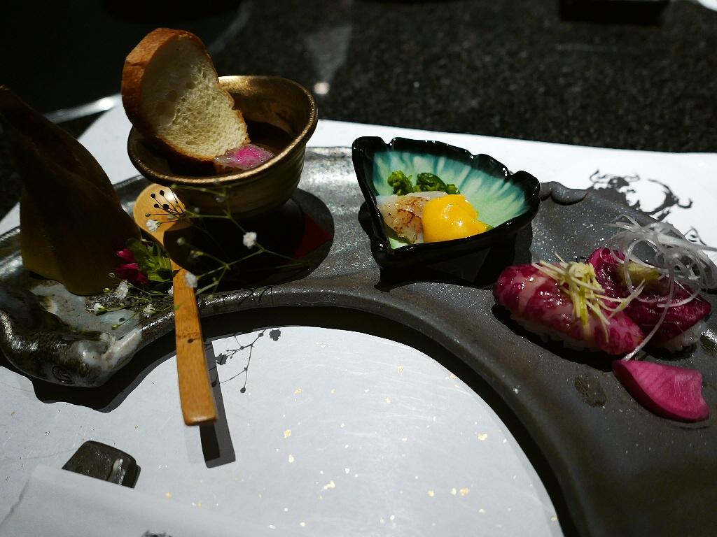 Mのディナー 絶品宮崎尾崎牛が高級懐石仕立てで楽しめます! なんば 「肉割烹 吟 ~ぎん~」