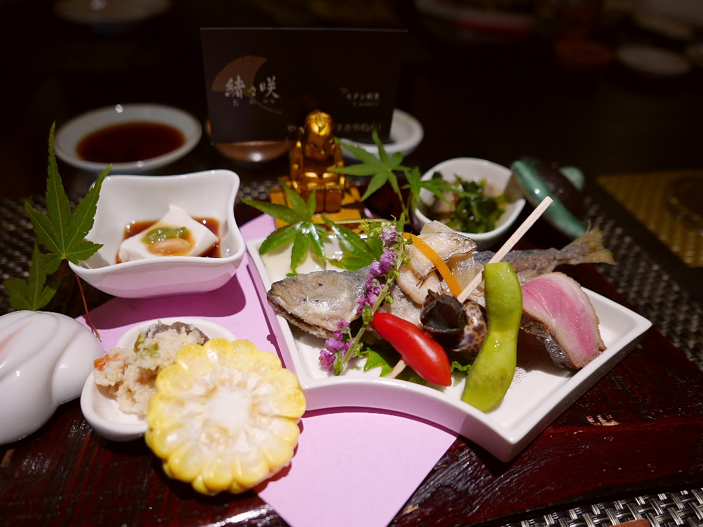Mのディナー 大阪産の旬の素材が楽しめる北新地の隠れ家 北新地 「モダン割烹 緒々咲」