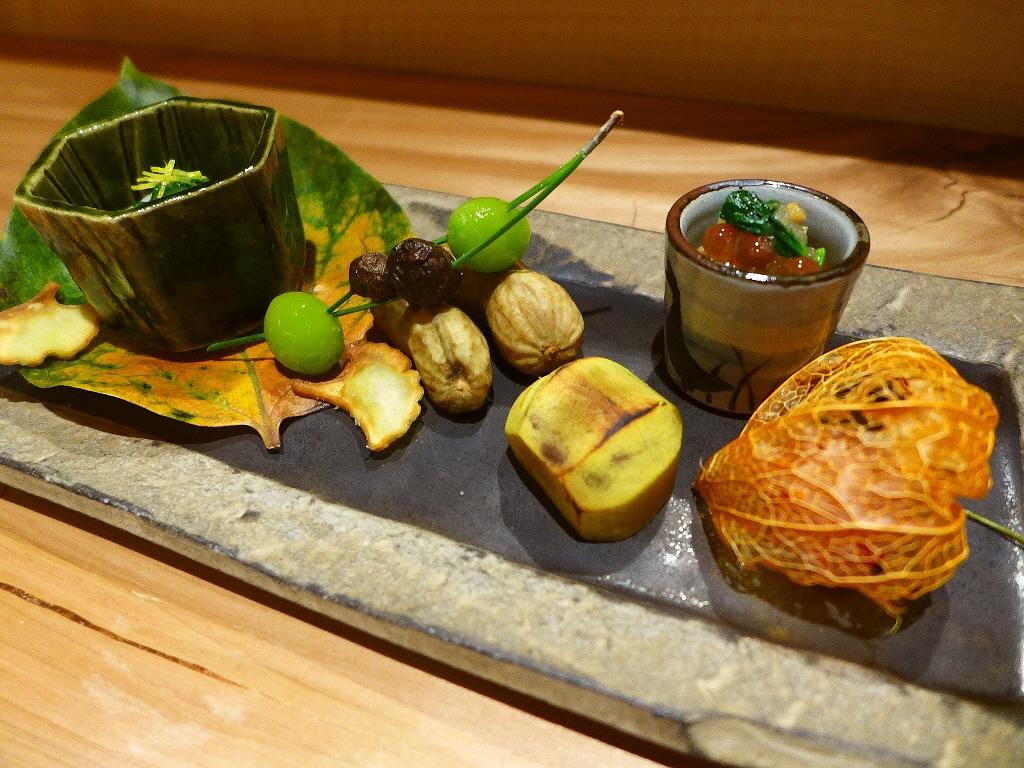 Mのディナー 品ぞろえ豊富な日本酒と共に楽しめる本格的でお値打ちのお任せコース! 北新地 「麓」