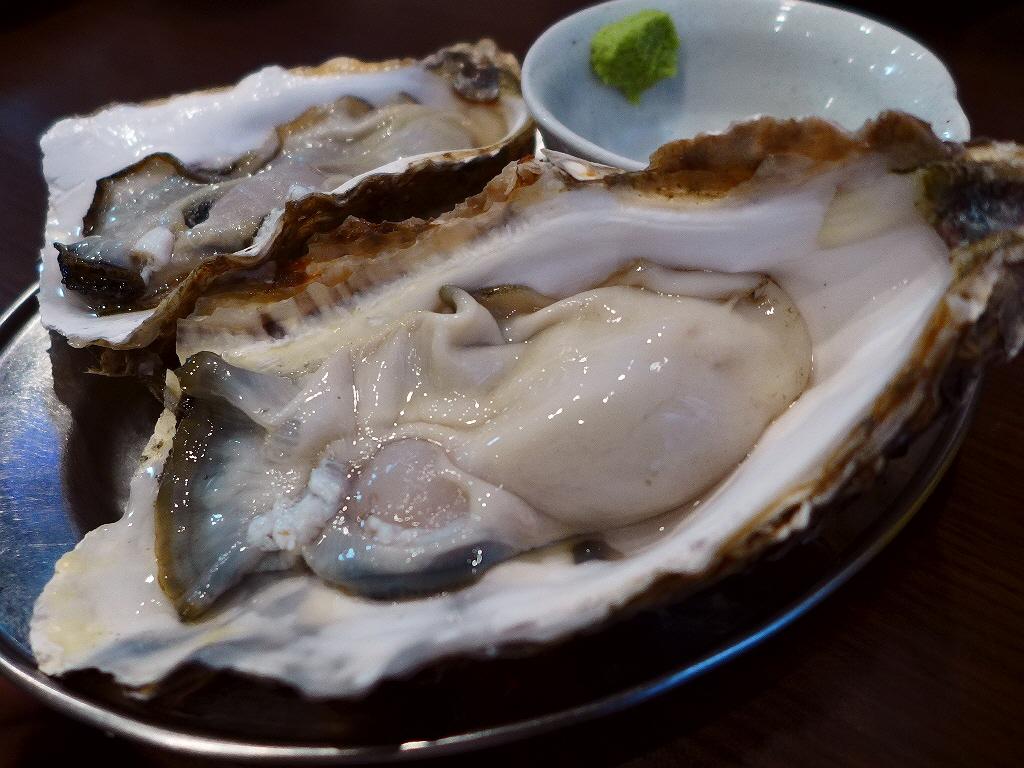 Mのディナー 絶品の牡蠣料理の数々に感動させていただけます! 阿倍野  「鉄板居酒屋 牡蠣 やまと」