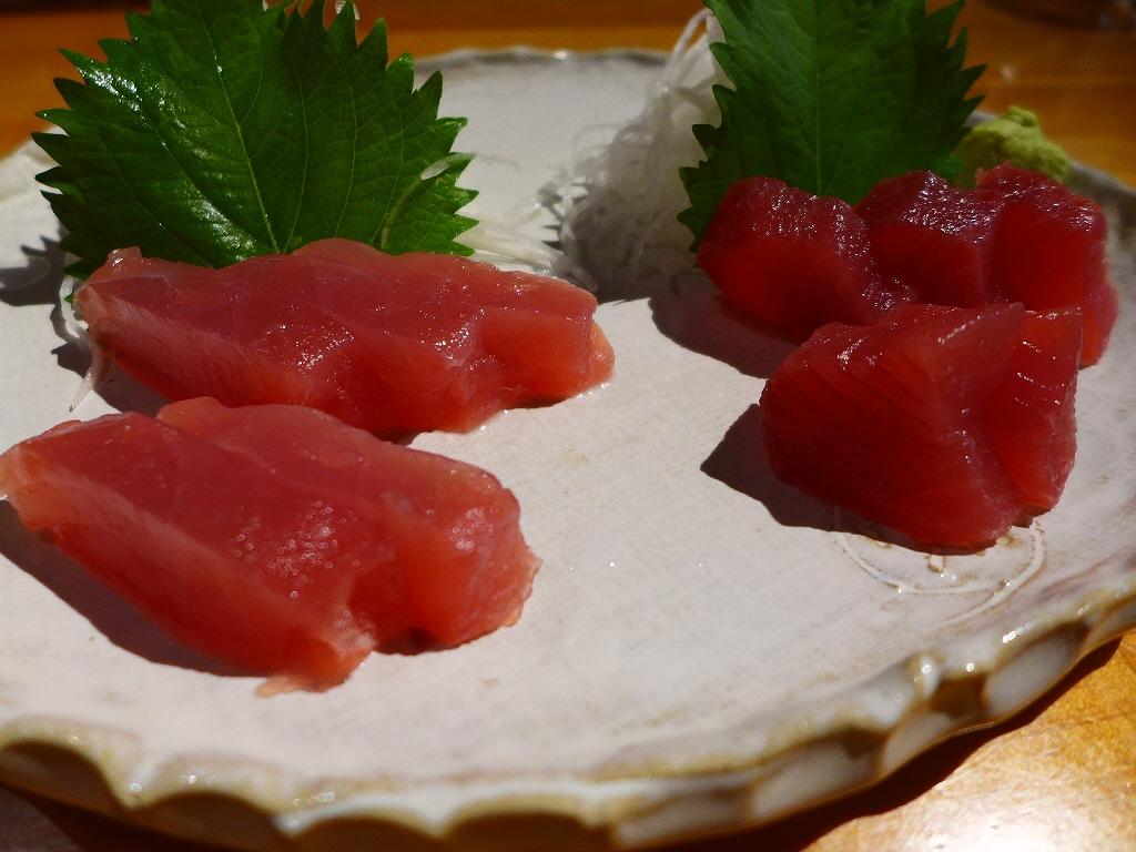 Mのディナー 紀州勝浦直送天然マグロ料理がリーズナブルにいただけます! 浪速区桜川 「楽彩」