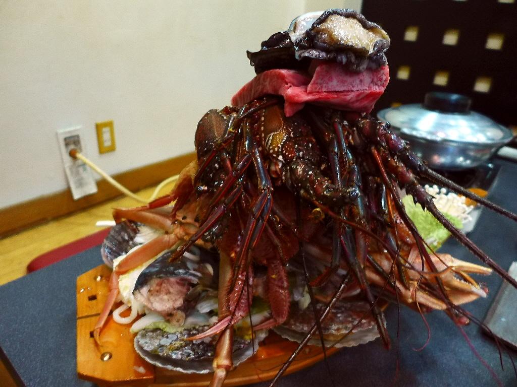 Mのディナー 高級食材を堪能させていただける豪快みや乃鍋! 弁天町 「みや乃」