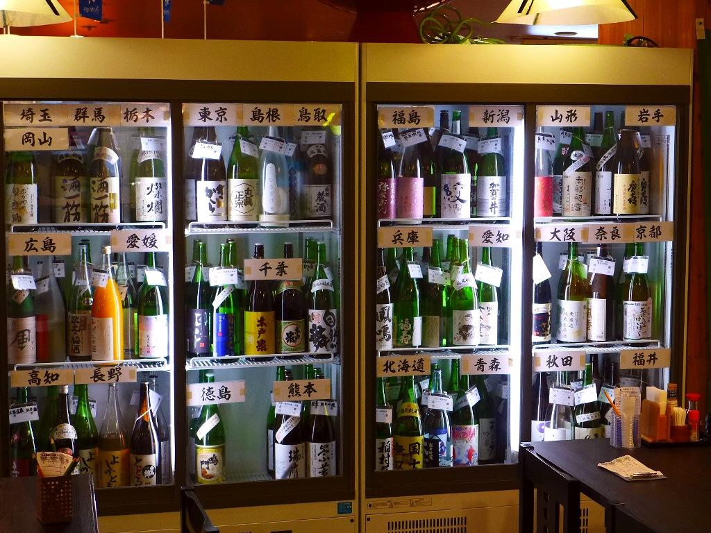 Mのディナー 100種類以上のお値打ちの日本酒が3000円で飲み放題!月~木は時間無制限! 京橋 「魚の上よし 京橋店」