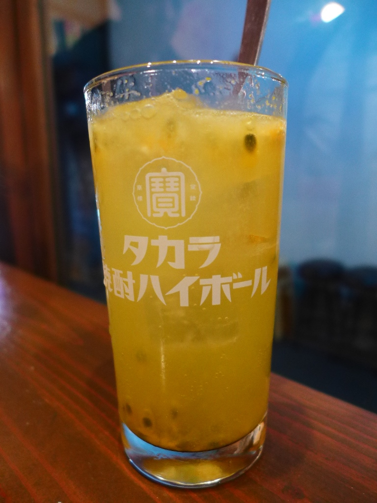 Mのディナーその3 生絞りフルーツチューハイ専門の立ち飲み屋さん! 北新地 「蜆楽檸檬」