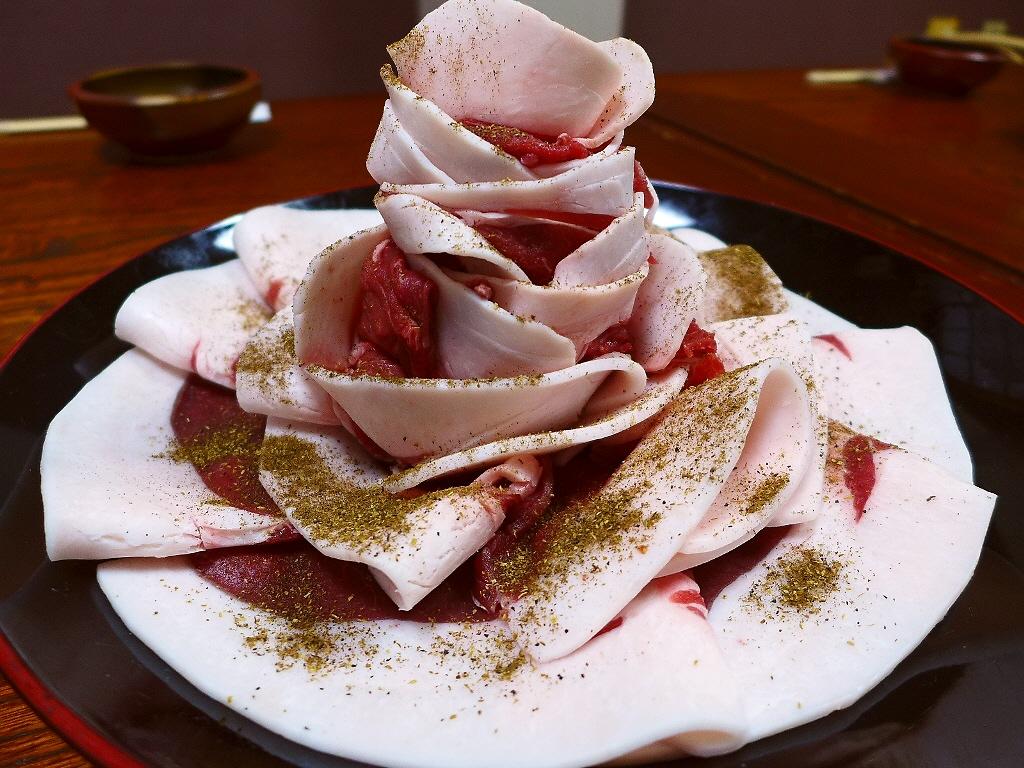 Mのディナー 極上の猪肉の絶品ぼたん鍋がいただけます! 弁天町 「みや乃」