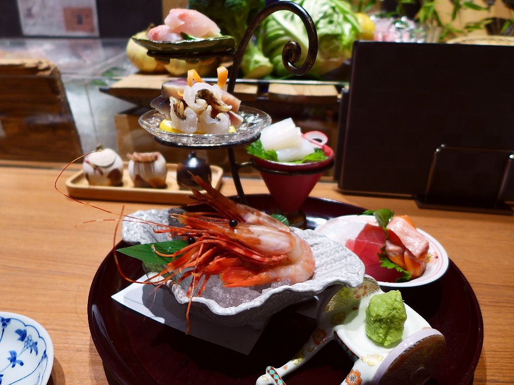 Mのディナー ちょっと高級な炉端焼きとお出汁まで美味しいおでんが楽しめる大人な雰囲気の店! 神戸三宮 「北野坂 舷」
