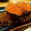 Mのディナー 圧倒的ボリュームのお寿司を口いっぱいに頬張って幸せいっぱいです! 三宮 「元祖ぶっち切り寿司 魚心 三宮店」