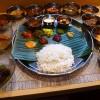 Mのディナー すごい種類の超本格スパイス料理が楽しめます!  堺筋本町 「スパイス料理ナッラマナム」
