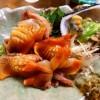 Mのディナー いつ行っても高級なネタがずらりと並ぶネタケースは魚介の宝石箱です! 西成区 「すし寛」