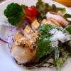 Mのディナー 豊中市のキャラクターのワニのお肉を使った様々な料理がいただけます! 豊中市 「服部ワイン酒場 BARVIDA」