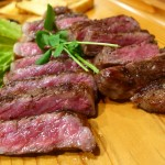 Mのディナー 超高級なステーキと280円均一の居酒屋メニューの両方が楽しめる使い勝手抜群のお店! 北区豊崎 「キッチン きたうち」