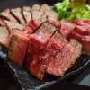 """Mのディナー 名物の""""塊肉""""と""""うにくら丼""""の両方が楽しめる欲張りで満足感が高すぎるコース! 福島区 「大淀屋」"""