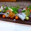 Mのディナー 初めて食べたうなぎのしゃぶしゃぶは感動的な美味しさでした! 福島区 「右近」